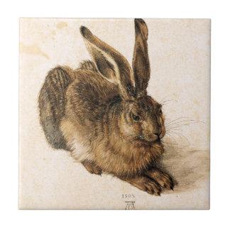 Albrecht Durer Young Hare Tile