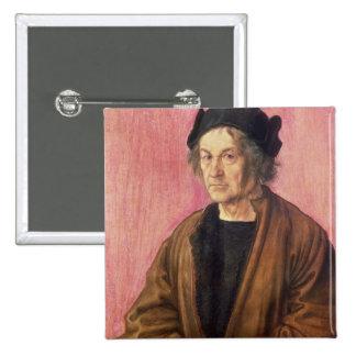 Albrecht Durer's Father, 1497 Button