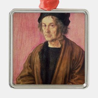 Albrecht Durer's Father, 1497 Metal Ornament