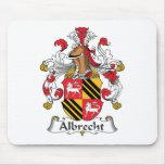 Albrecht Family Crest Mouse Mats