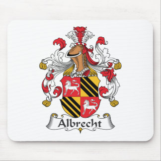 Albrecht Family Crest Mouse Pad