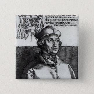 Albrecht of Brandenburg, 1519 Pinback Button