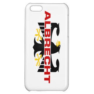 Albrecht Surname iPhone 5C Cases