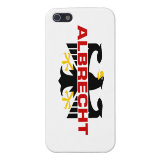Albrecht Surname Covers For iPhone 5