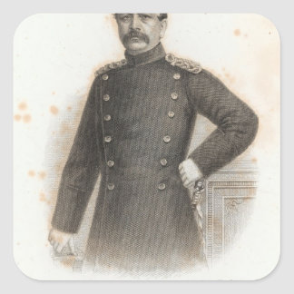 Albrecht von Stosch Pegatina Cuadrada