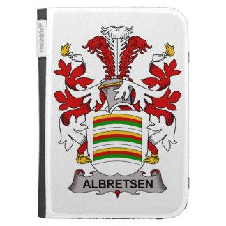Albretsen Family Crest Kindle 3 Cover