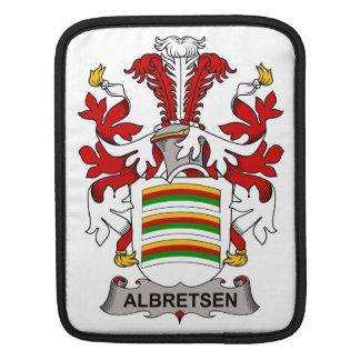 Albretsen Family Crest Sleeves For iPads