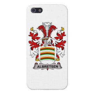 Albretsen Family Crest iPhone 5 Cases