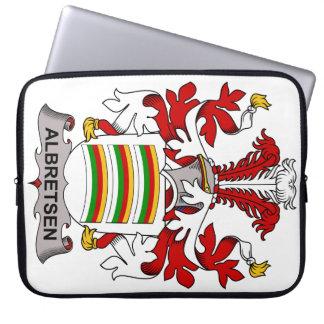 Albretsen Family Crest Laptop Sleeve
