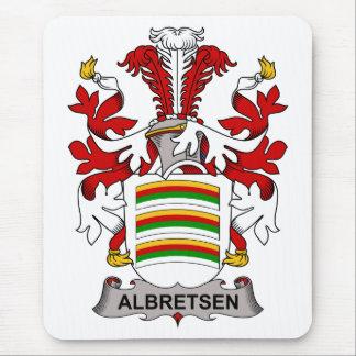 Albretsen Family Crest Mousepads