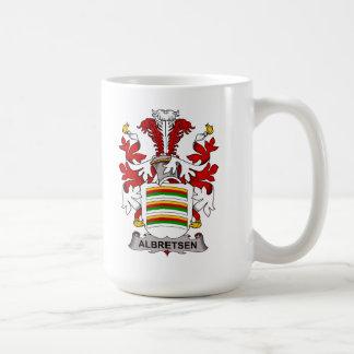 Albretsen Family Crest Mugs