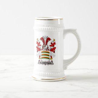 Albretsen Family Crest Mug
