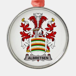 Albretsen Family Crest Ornament