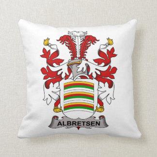 Albretsen Family Crest Pillows