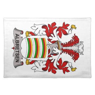 Albretsen Family Crest Placemat