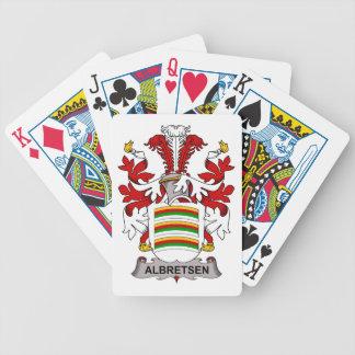 Albretsen Family Crest Card Decks