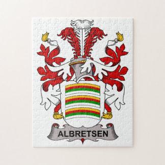 Albretsen Family Crest Jigsaw Puzzle