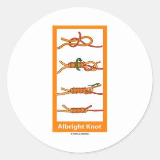 Albright Knot Sticker