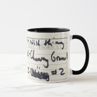Album #1 Recording Tape Label Mug