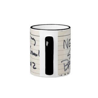 Album #1 Recording Tape Label Ringer Mug