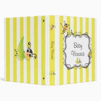 """Álbum adorable del libro del bebé de la abeja del  carpeta 1"""""""