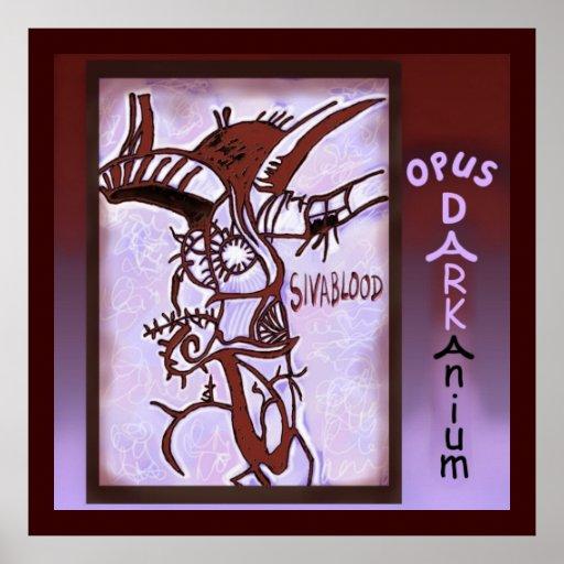 Album Art de Darkanium del opus Póster