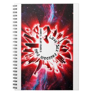 Album Cover - Darryl Alan Marks Merch Spiral Notebook