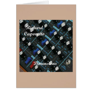 Album cover for the album Dimensions Card