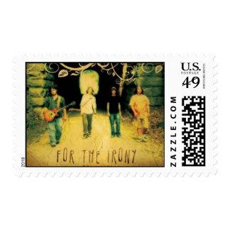 Album Cover Postage Stamp