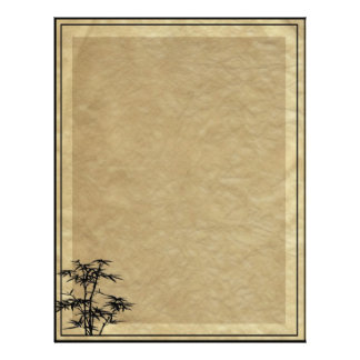 Álbum de bambú membrete