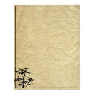 Álbum de bambú membrete personalizado