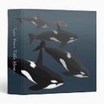 Álbum de encargo de la carpeta de la orca de la ca