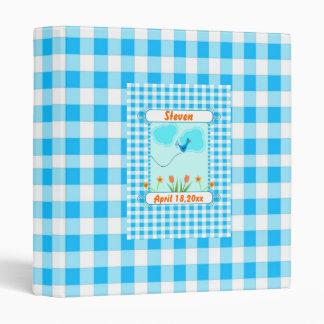 """Álbum de foto azul del bebé de Vichy Carpeta 1"""""""