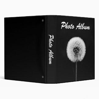 """Álbum de foto blanco y negro carpeta 1"""""""