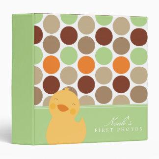 """Álbum de foto de Duckie Polkadot Carpeta 1 1/2"""""""