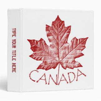 Álbum de foto de encargo del recuerdo de Canadá de
