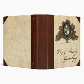 """Álbum de foto de la genealogía de la familia carpeta 1 1/2"""""""