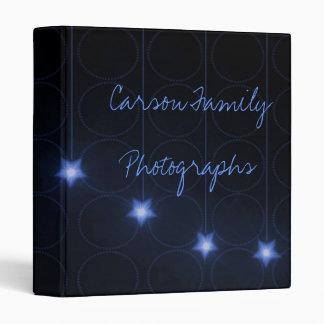 Álbum de foto de la luz de las estrellas del zafir