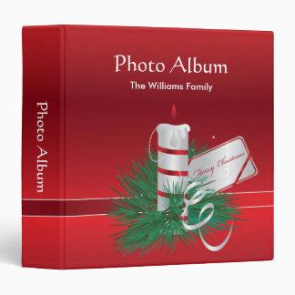 """Álbum de foto de las Felices Navidad Carpeta 1 1/2"""""""