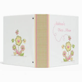 Álbum de foto de las flores y de las mariposas de