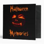 Álbum de foto de las memorias de Halloween