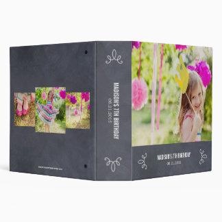 Álbum de foto de uso múltiple elegante marcado con