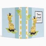 Álbum de foto del bebé de la jirafa