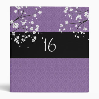 Álbum de foto del dulce dieciséis/carpeta púrpuras