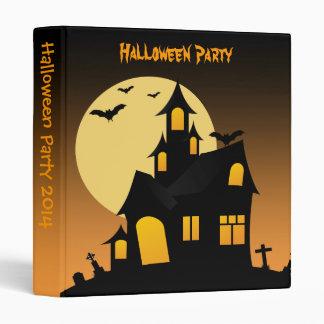 Álbum de foto del fiesta de Halloween de la casa