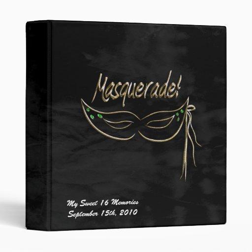 Álbum de foto del fiesta de la mascarada