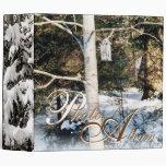 Álbum de foto del invierno