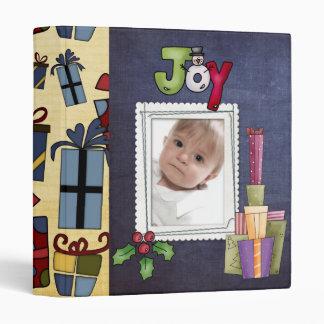 """álbum de foto del libro de recuerdos del navidad carpeta 1"""""""