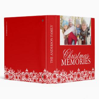 Álbum de foto del navidad de la familia