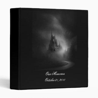 Álbum de foto gótico del boda del castillo